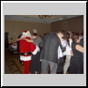 Santa cutting the rug.
